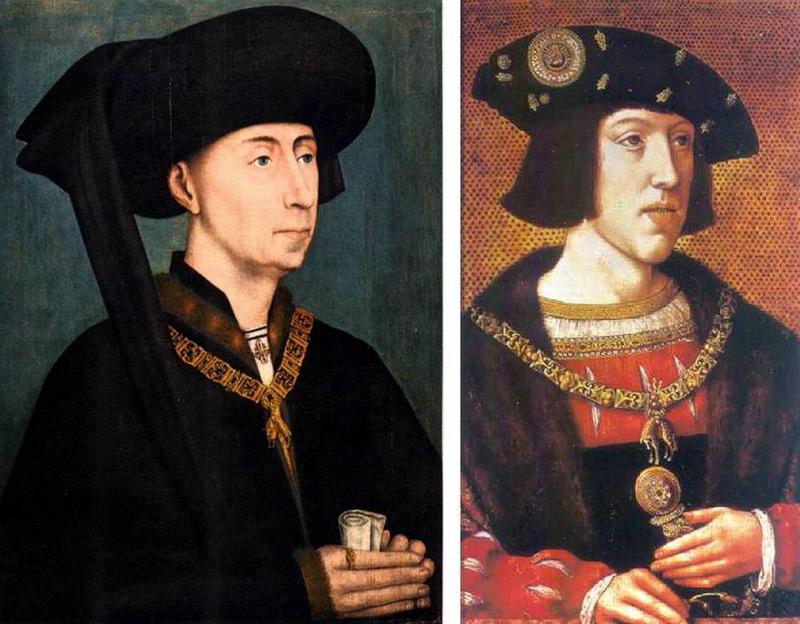 Felipe el Bueno, duque de Borgoña y Felipe el Hermoso