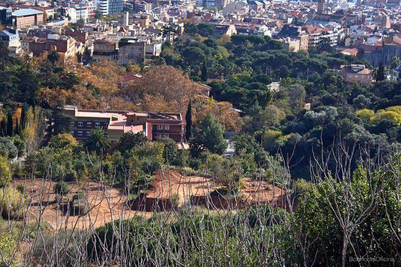 Vistas desde Collserola del lugar donde se supone vivía Santa Eulàlia en Sarrià