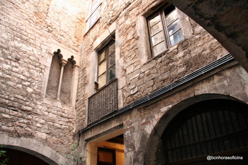 Detalles que se conservan del palacio original
