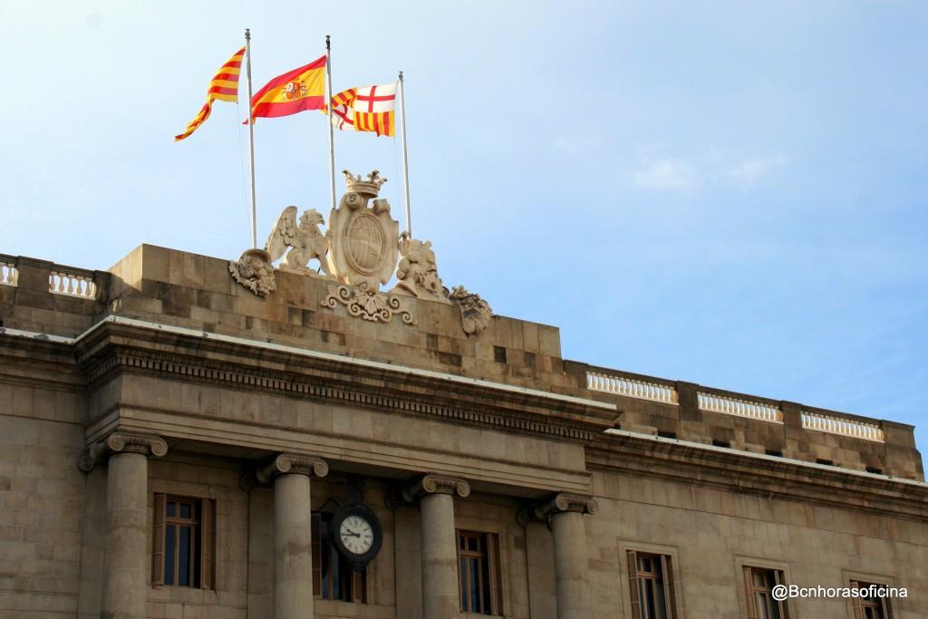 Friso superior Ajuntament de Barcelona