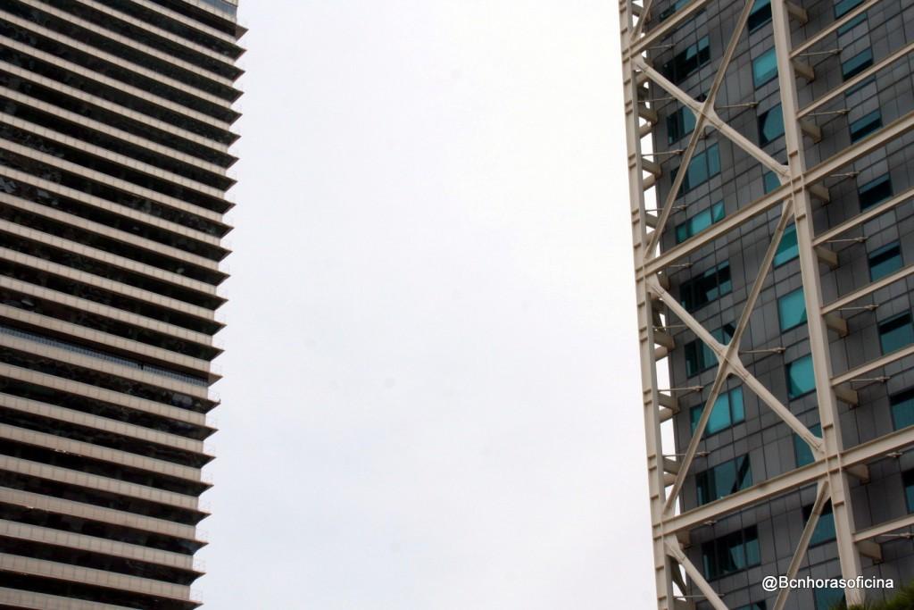 Perfil de las dos torres que cambiaron el skyline de Barcelona