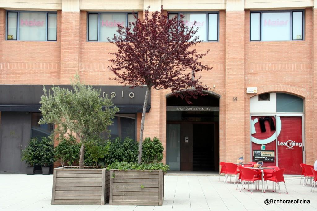 Edificio donde se encontraba la oficina de los asistentes de delegación