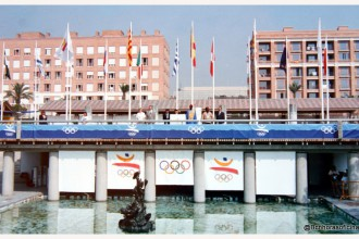 Vila Olímpica julio 1992