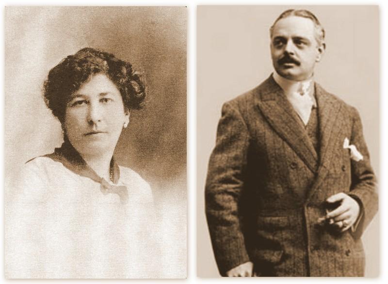 Roser Segimon y Pere Milà, propietarios de la Casa Milà