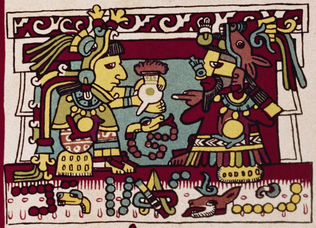 Codigo Zouche-Nuttall, Mexico 1200-1521