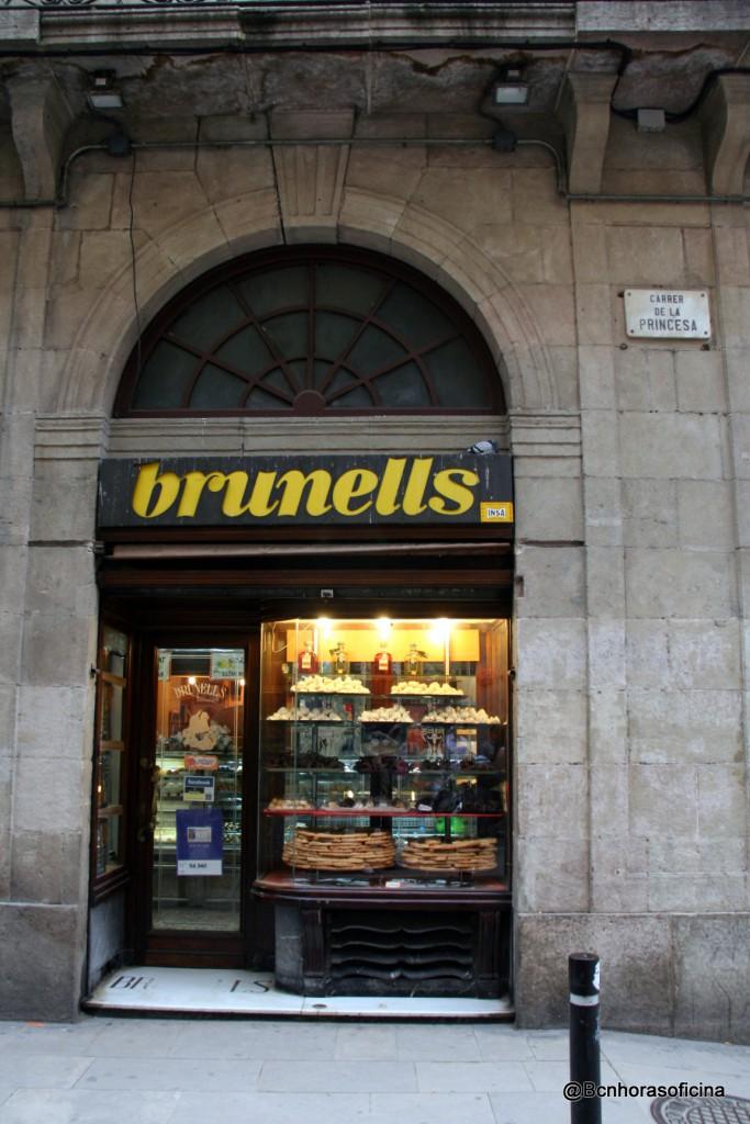 La Brunells de Princesa, esquina Montcada