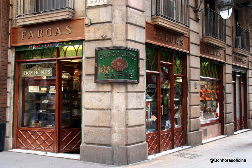 Chocolateria Fargas, la más antigua de Barcelona