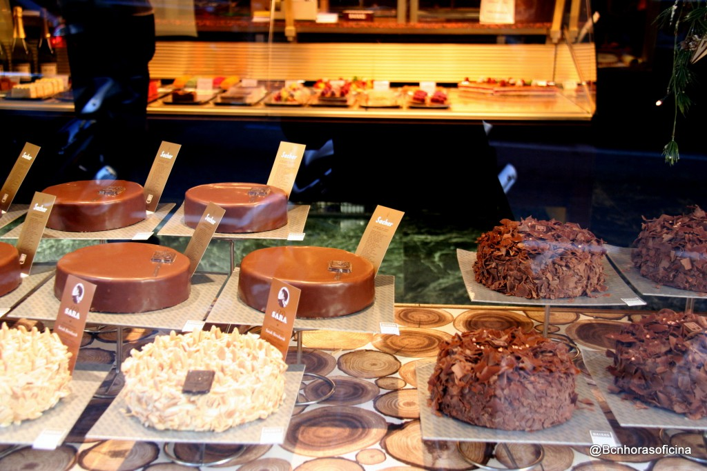 Irresistibles tartas Sacher y Saras