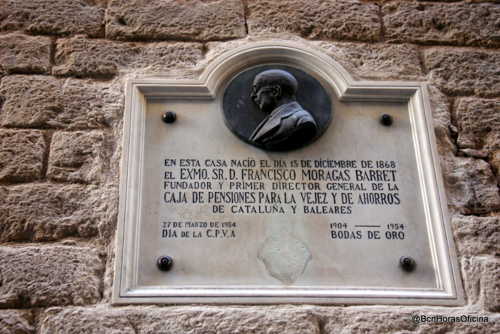 Casa natal del fundador de La Caixa