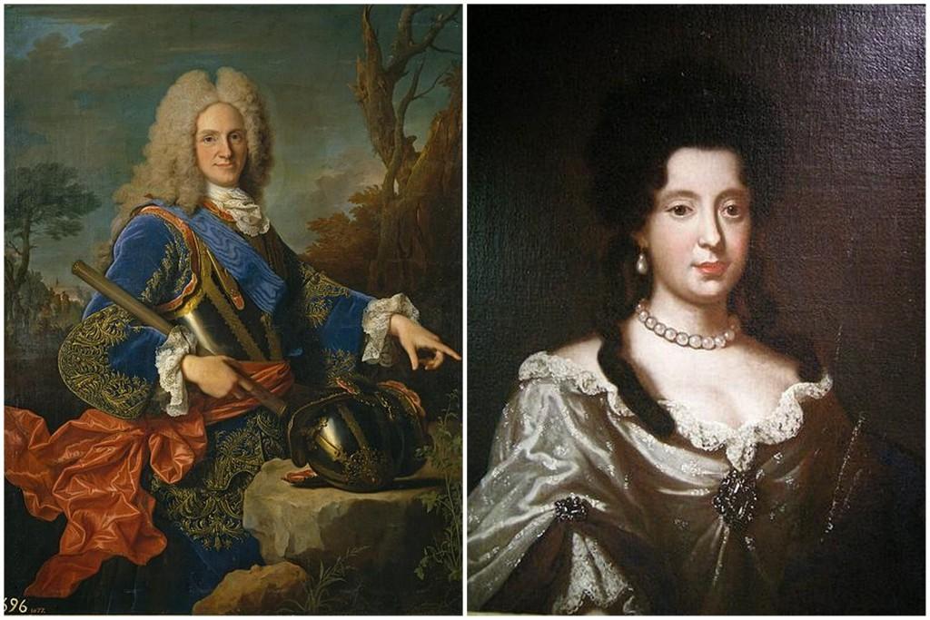 Felipe de Anjou y Maria Luisa Gabriela de Saboya