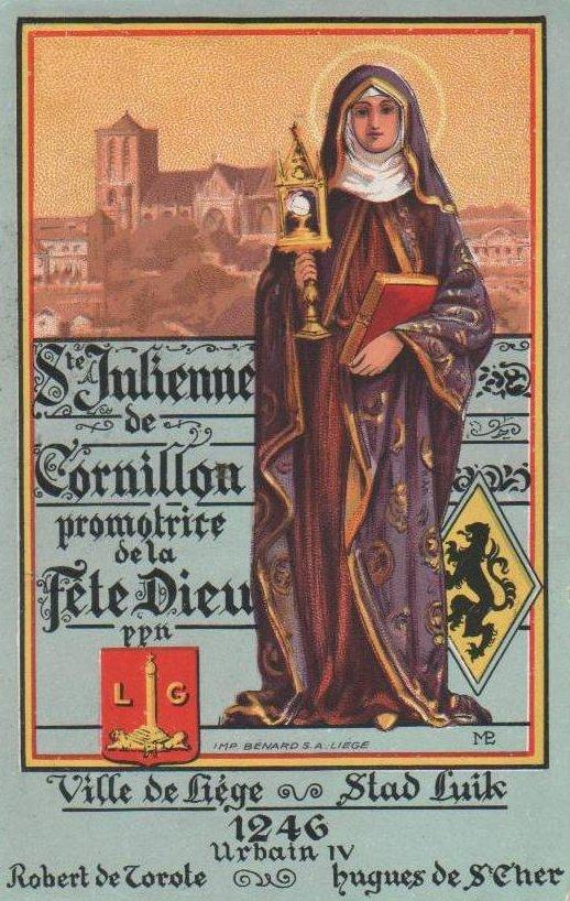Sainte Julienne de Cornillon