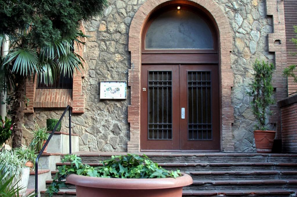 La Parróquia de Santa Agnes, donde estaba el desaparecido Cine Apsi
