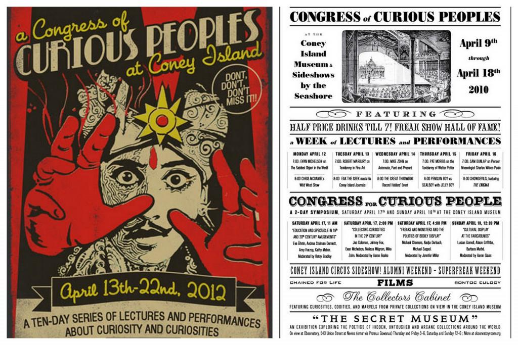 Carteles de anteriores ediciones