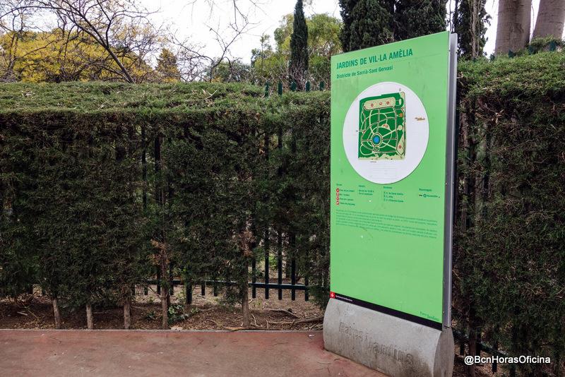 Acceso a los Jardines de Vila Amelia