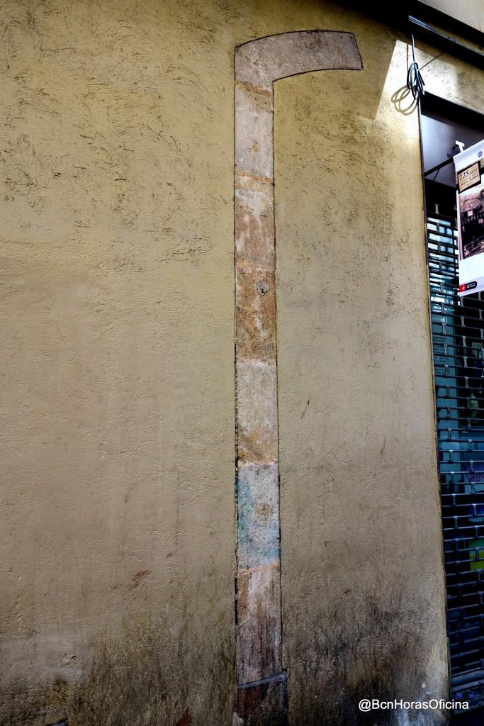 Arco correspondiente al desaparecido Museo Roca