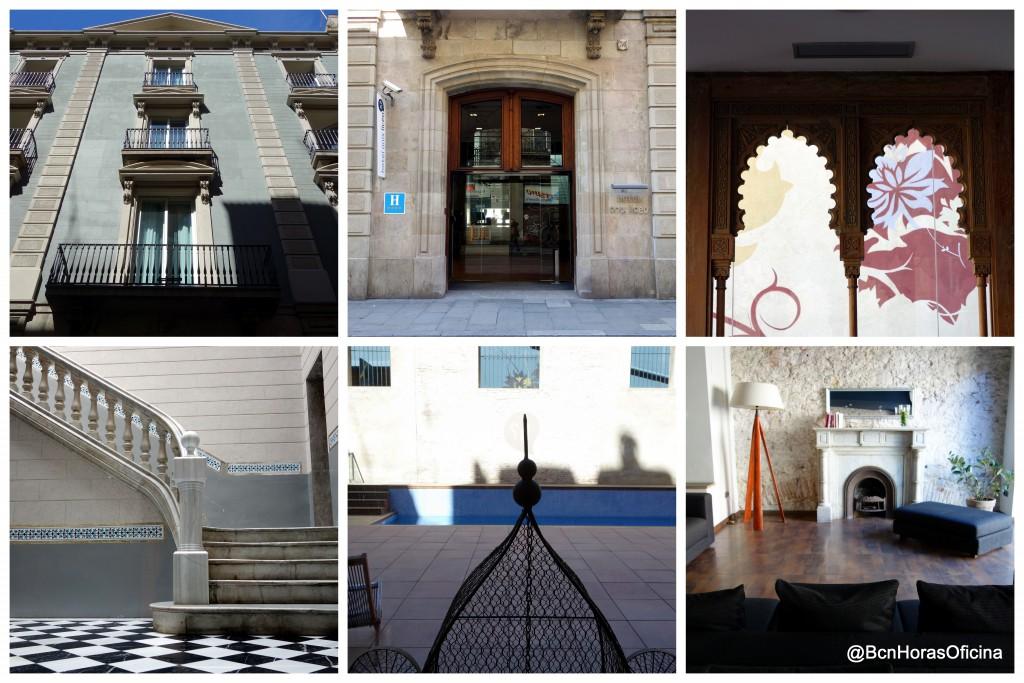 Postal con imágenes del Hotel Onix Liceo