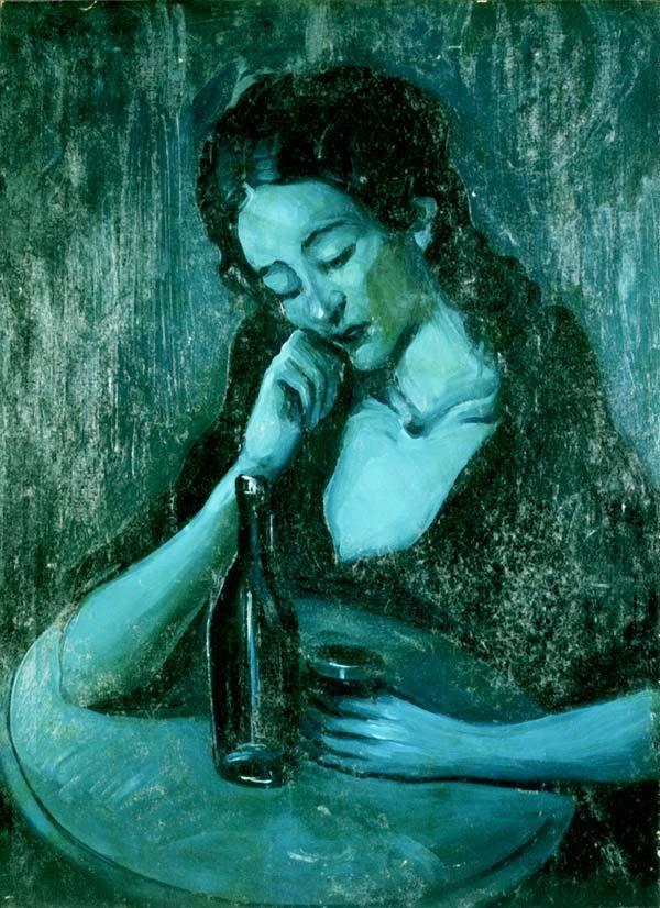 """Dama en Edén Concert"" de Pablo Picasso"