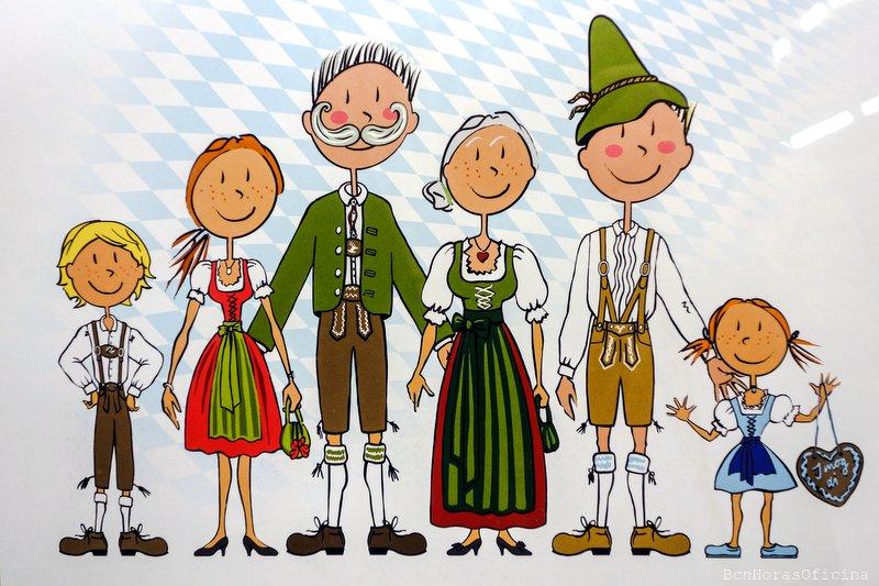 Trajes típicos bávaros