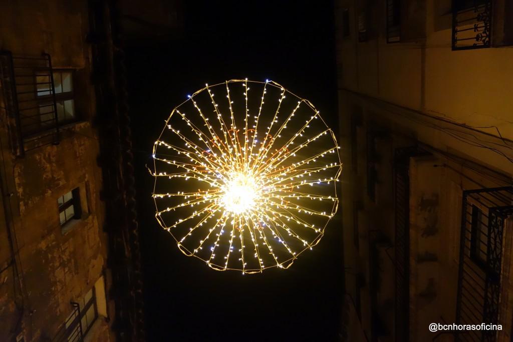Iluminación para recordar la ausencia de luz del astro rey