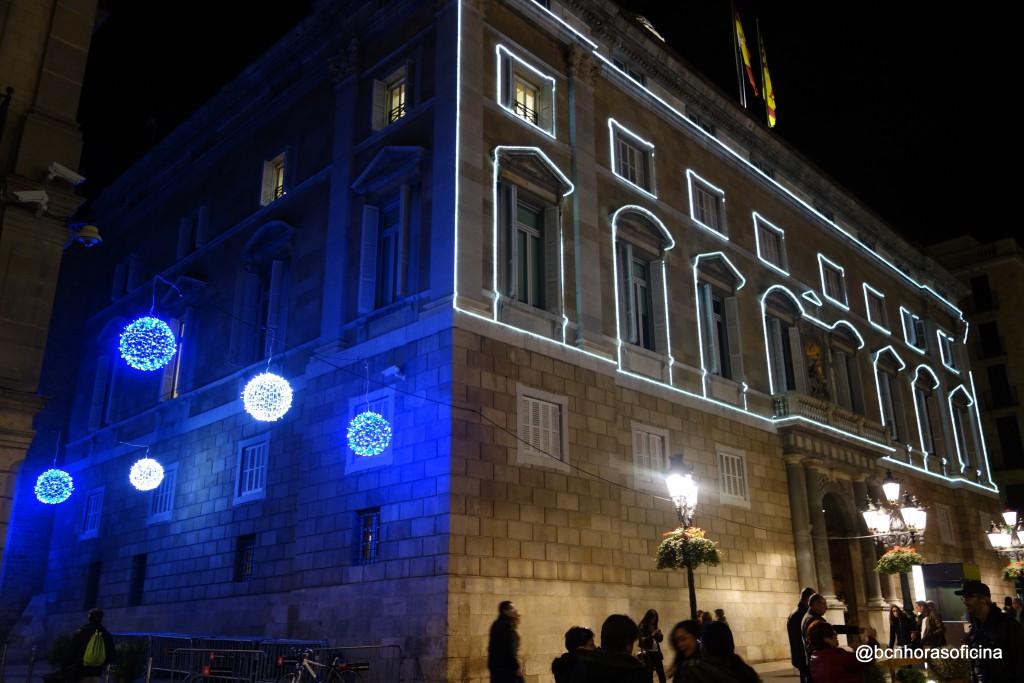 Palau de la Generalitat. Plaça Sant Jaume