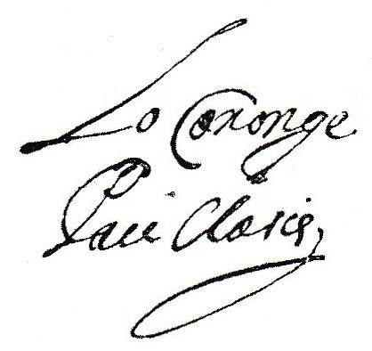 Firma de Pau Claris publicada en Wikipedia