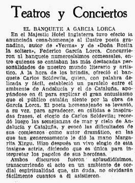 La Vanguardia. Miércoles, 25 de diciembre de 1935