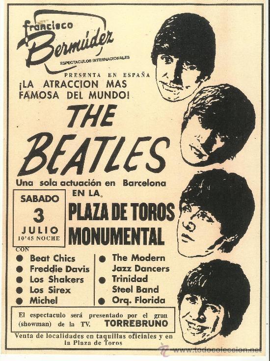 Cartel publicitario del concierto