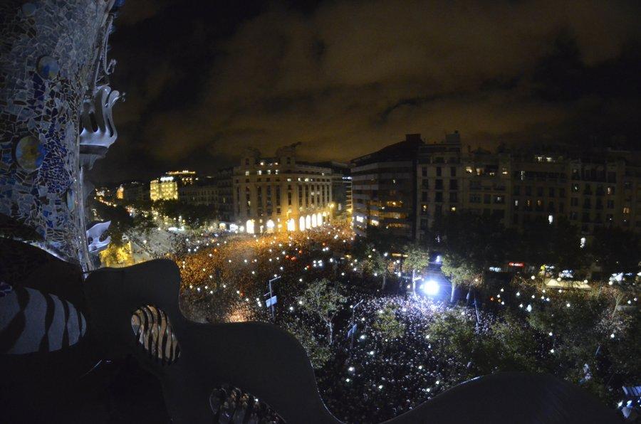 Vista panorámica del público asistente (Foto: Casa Batlló)