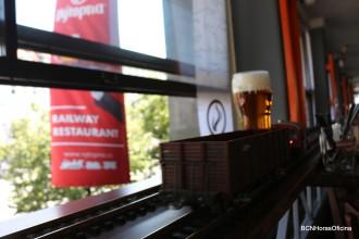 En Praga, la cerveza viaja en tren