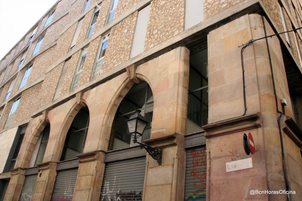 Restos de antiguos edificios