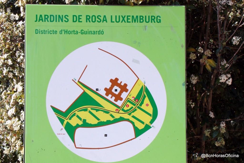 Mapa de los Jardines