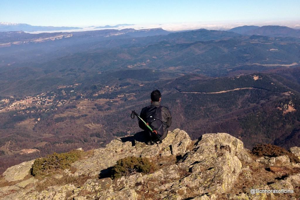 Vistas desde la cima del Matagalls