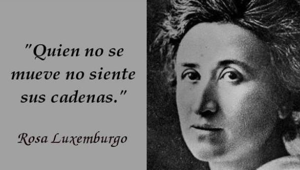 Rosa Luxemburgo (Zamoscia 1871 – Berlín 1919)