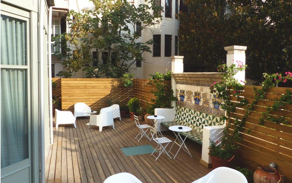 Casa Mathilda. Terraza