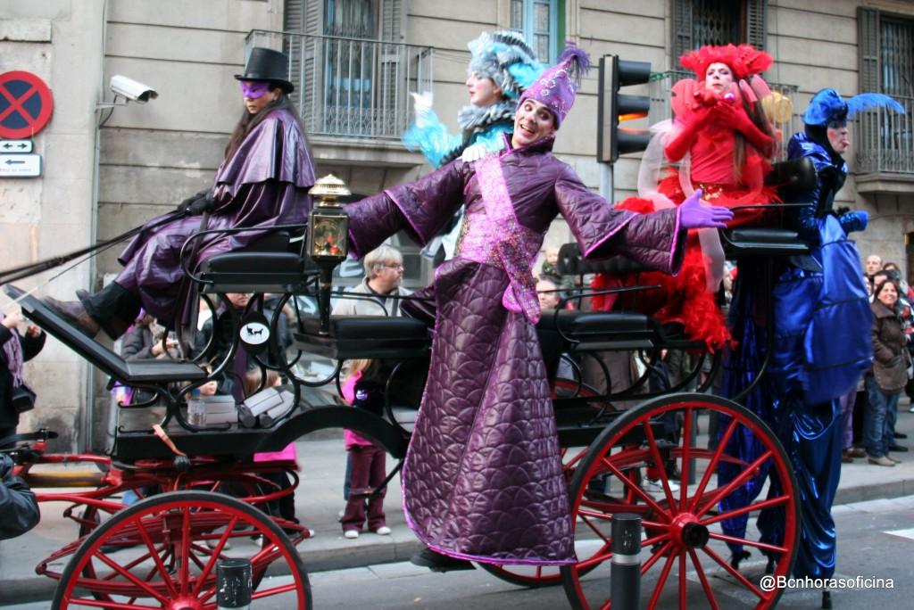 La rua de Carnaval, un imperdible de la fiesta