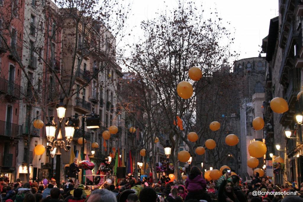 """Tras la recuperación de la tradición, la primera """"Taronjada"""" se celebró en 2012"""
