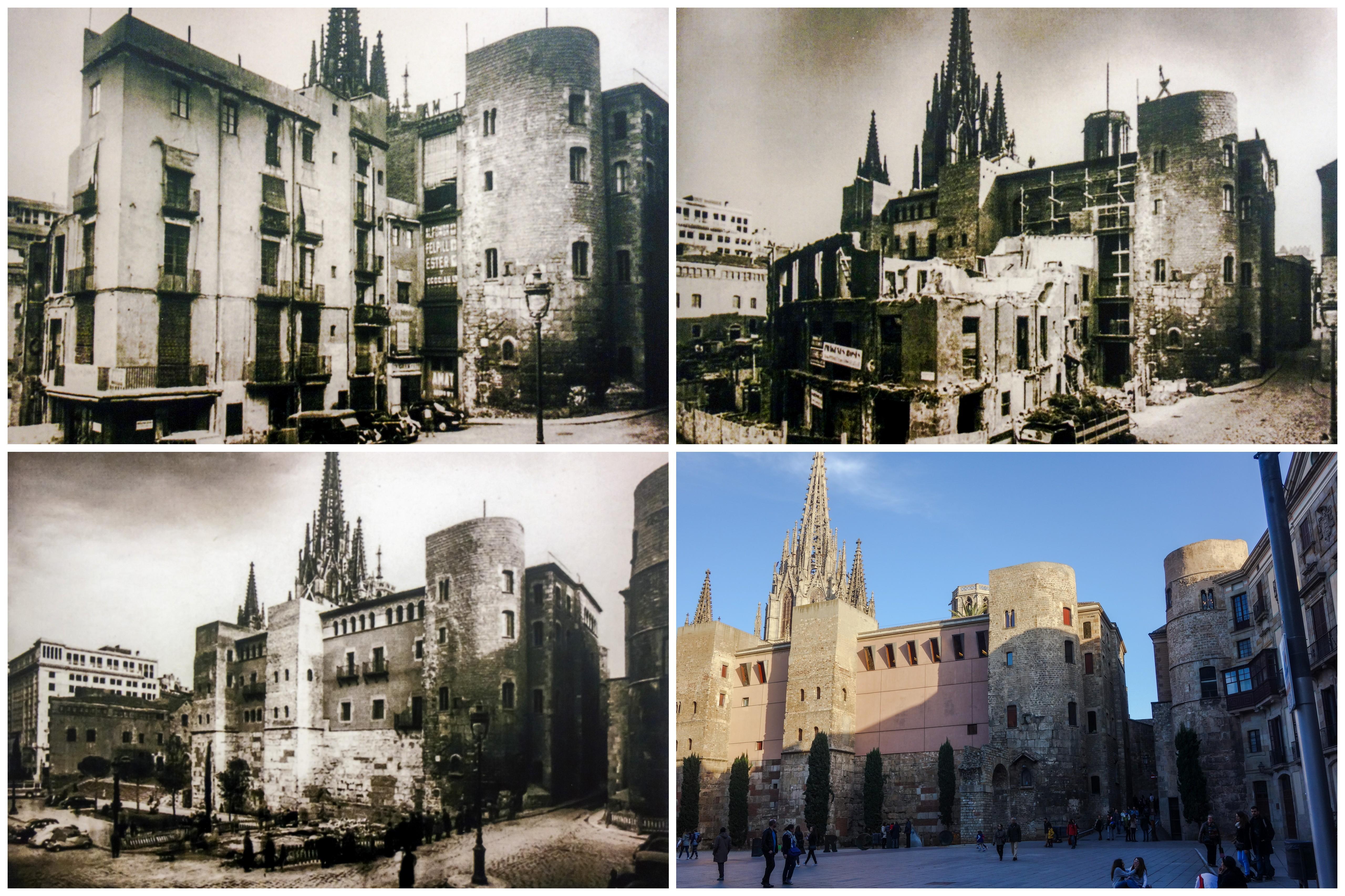 el quinto barrio de ciutat vella barcelona en horas de