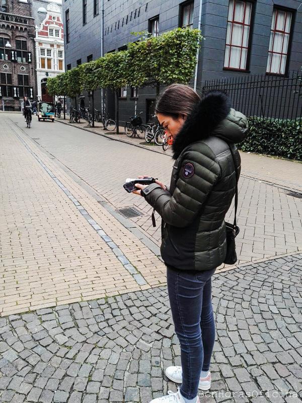 Día de rodaje durante el Erasmus