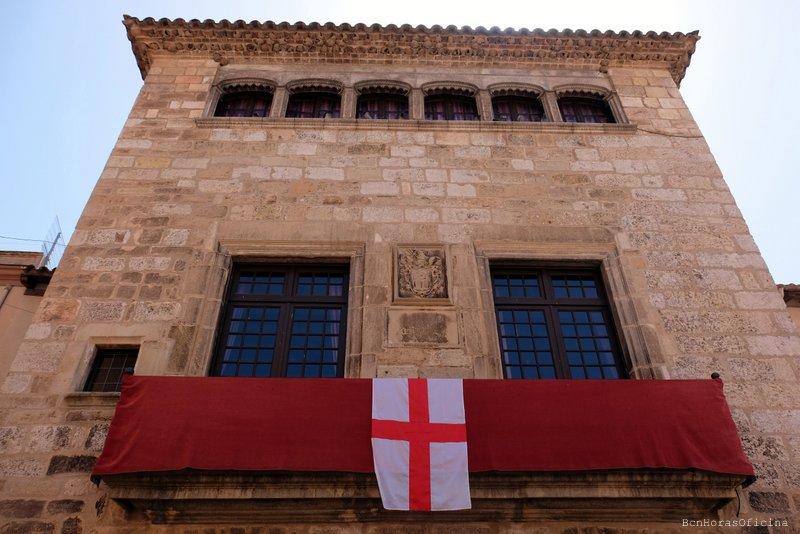 Bandera de Sant Jordi