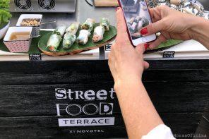 Street food terrace