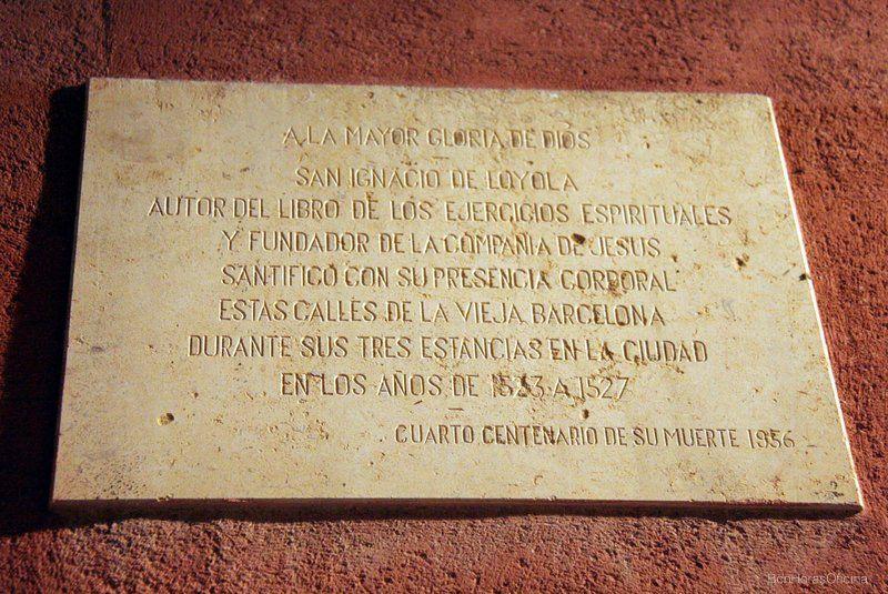 Camino Ignaciano en Barcelona